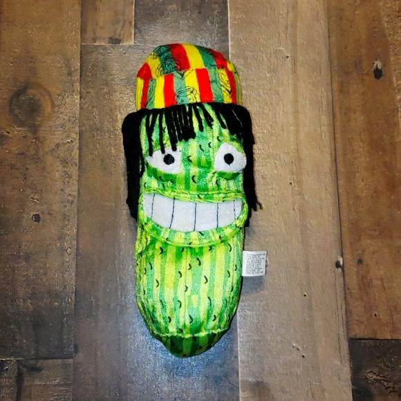 Rasta Plush Cucumber Collectible